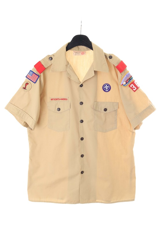 BOY SCOUTS OF AMERICA (L) made in USA